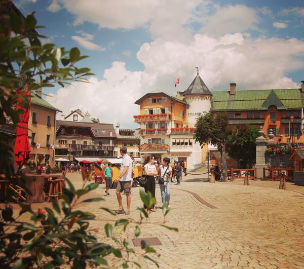 Megève, station de ski et village authentique