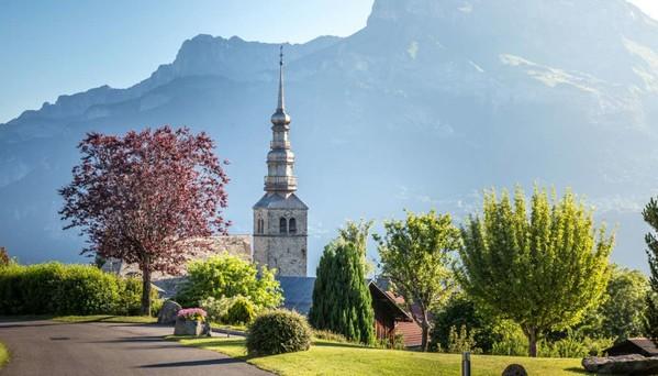 Combloux, village de montagne